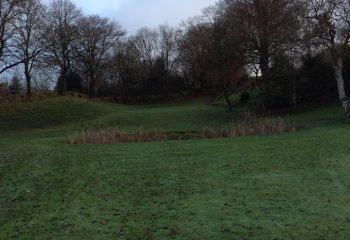 Approaching water hazard at the 2nd | 11th hole