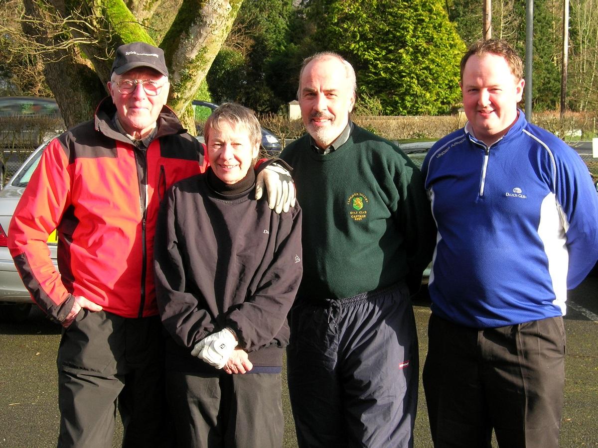 John, Jenny, Norman & Kevin