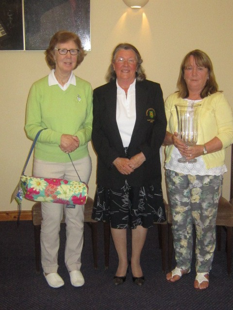 Prize winners, Lady Captain's Open Day, 2015