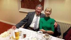 Club Secretary Victor and wife Daisy