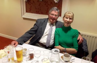 Club Secretary Victor and wife Daisy