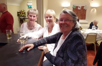 Three lovely Birdies: Florence, Barbara & Bernie