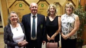 Ladies Winners: Henrietta, Gillian & Florence (missing from photo Bernie)