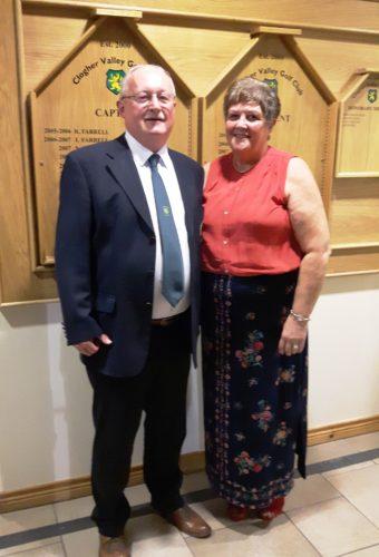President Everett & wife Jennifer